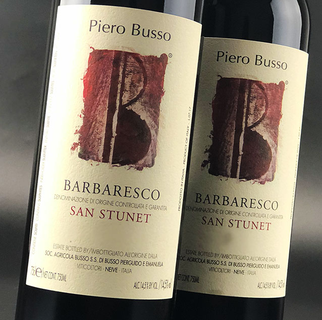 View All Wines from Busso