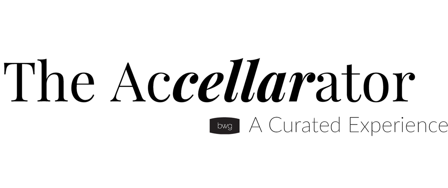 The Accellarator. Benchmark Wine Group. A Curated Experience